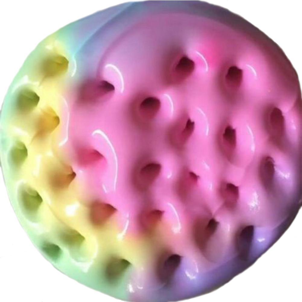 LeadingStar Colorful Rainbow Cotton Fairy Cloud Slime Fluffy Icecream Mud Stress Relief Kids DIY Toy ZK40