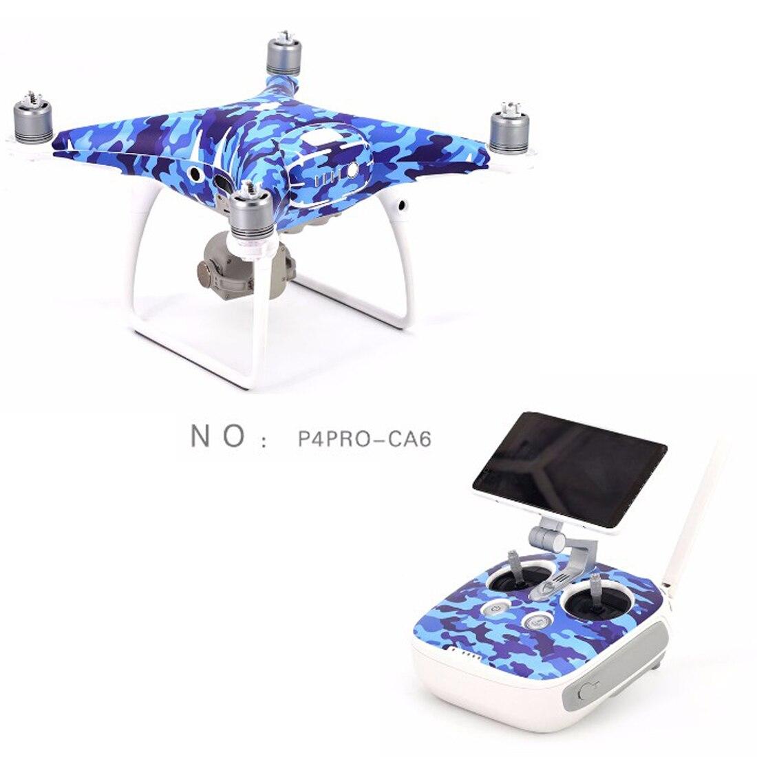 NEUE 3 Mt aufkleber haut aufkleber für DJI phantom 4 PRO + RC drohne mit kamera Zubehör PVC 4 Karat HD Quadcopter drohnen Teile