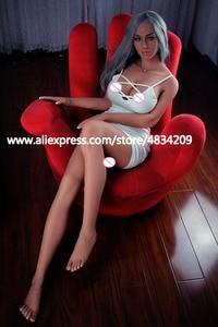 Image 5 - KNETSCH 165 cm Top kwaliteit realistische sekspop volwassen Grote borsten sexy liefde poppen Levensechte Vagina Kut Anale Echte siliconen sekspop