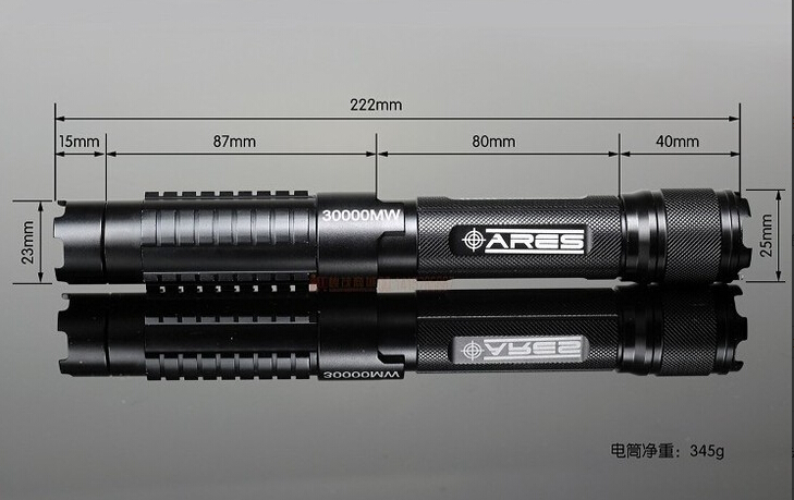 High Power Blue Laser Pointer 200W 20000m 450nm Flashlight Burning Match black burn Cigarette Airsoftsports Tactical Laser Sight in Lasers from Sports Entertainment