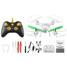 Folding RC Drone With 0.3MP Camera WIFI FPV  6-Axis Radio-Controlled Fixed Height Helicopter Drone Quadcopter Toys