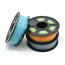 ABS Пластик 3D-принтеры 1 кг 1,75 мм поставки накаливания для RepRap 3d нити ABS 1,75 impressora 3D filamento