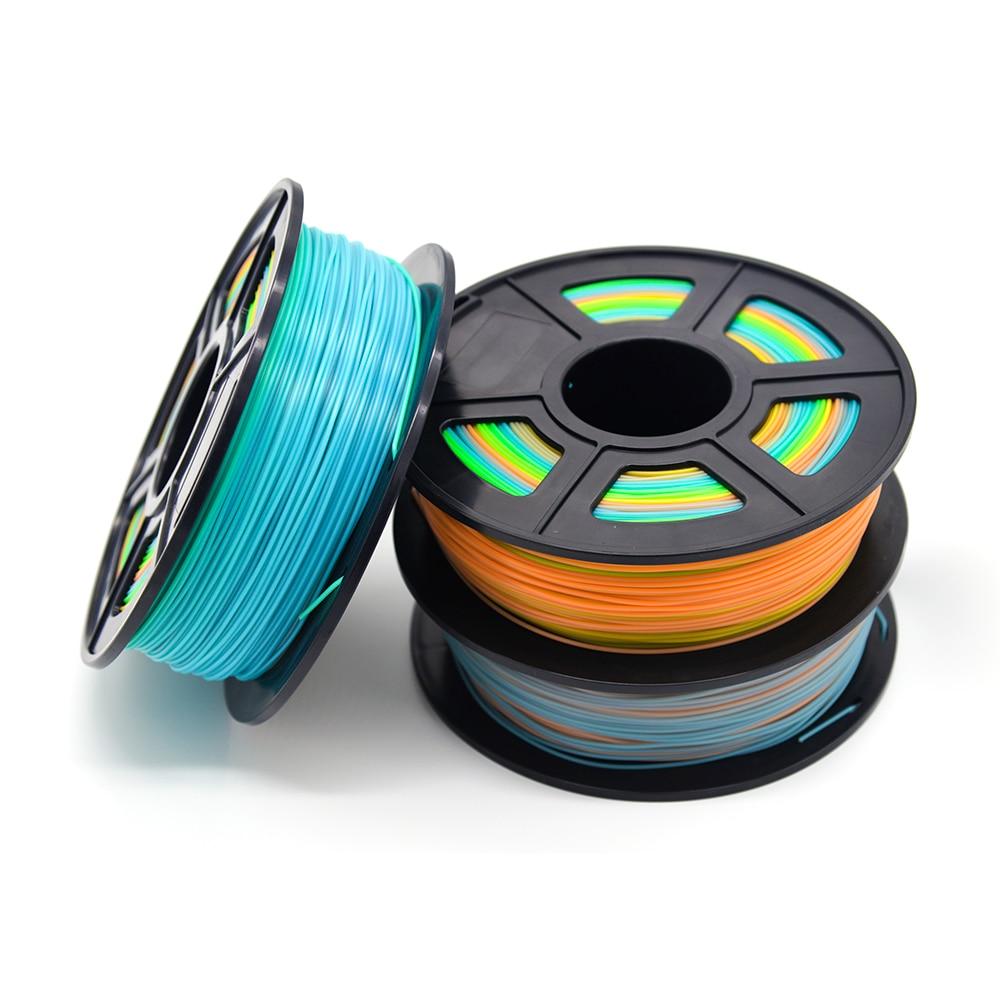 Plástico ABS 3D impresora 1 kg 1,75mm suministros de filamento para RepRap 3D filamento ABS filamento 1,75 impressora 3D filamento