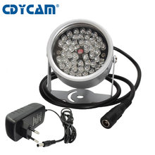 CDYCAM CCTV 48 Array IR led illuminator Licht Infrarot Outdoor Wasserdicht Nachtsicht Für Überwachung Kamera verwenden 12V2A power