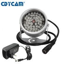 CDYCAM CCTV 48 Array led infrarrojos iluminador de luz infrarroja al aire libre impermeable noche visión para cámara de vigilancia uso 12V2A de