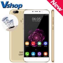 D'origine OUKITEL U20 Plus 4G Mobile Téléphone Android 6.0 MTK6737T Quad Core 2 GB/16 GB 5.5 «1920×1080 D'empreintes Digitales Double SIM Smartphone