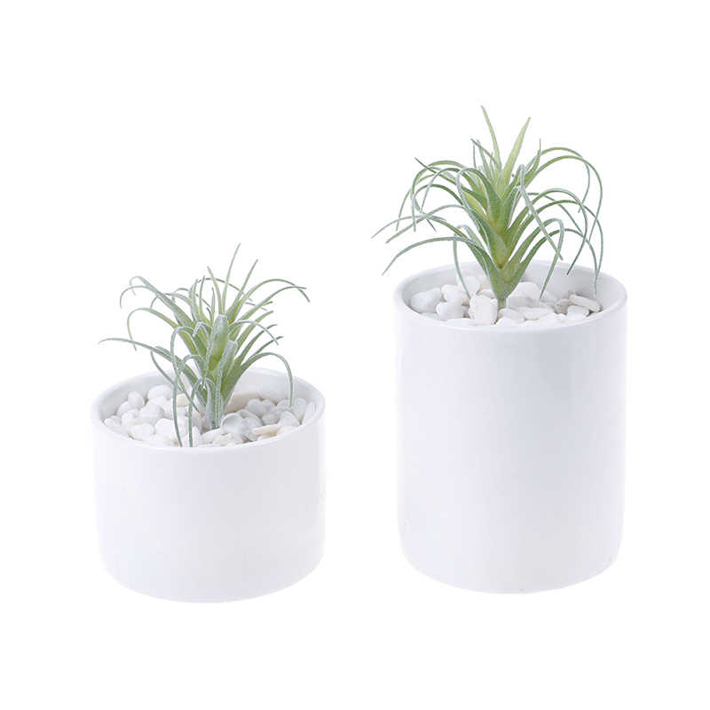 1PCS Artificial Pineapple Grass Air Plants Home Garden Decor Fake Flowers As Home Wall Decoration Hot Sale