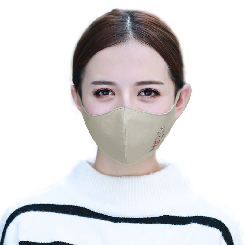 1Pcs Fashion Girls Face Mouth Mask Anti Dust Mask Filter Windproof Mouth-muffle Bacteria Proof Flu Face Masks Care Reusable