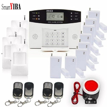 SmartYIBA Wireless Wired GSM Home Burglar Security GSM SMS Alarm System Remote Control Russian Spanish French Italian Voice