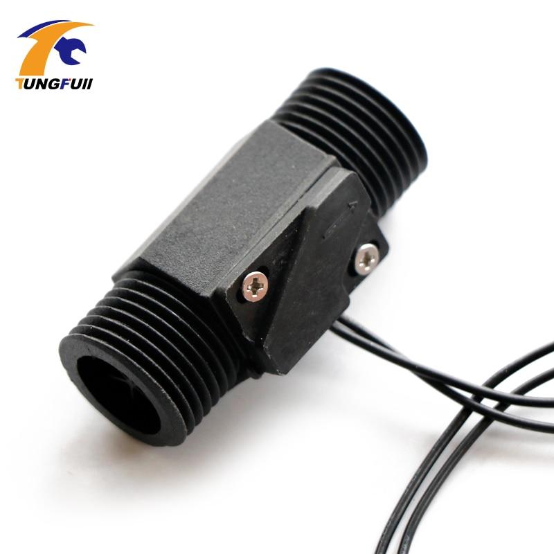 Magnetic plastic flow sensor Plastic Water flow switch недорго, оригинальная цена