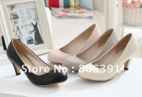c5b8f1a5dae HOT SALE Low heel lady shoes