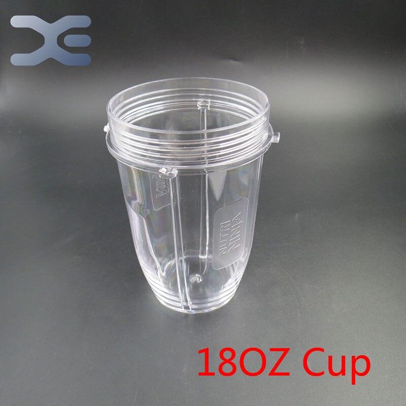18 OZ Taza De Ninjas Licuadora Exprimidor Nutri Claro Sustitución de Reemplazo 1