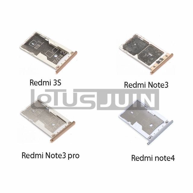 Nano Sim Karte.Us 2 35 6 Off Neue Nano Sim Micro Sim Karte Tray Halter Micro Sd Card Slot Halter Adapter Für Xiaomi Redmi 3 S Redmi Hinweis 3 Note3 Pro In Neue