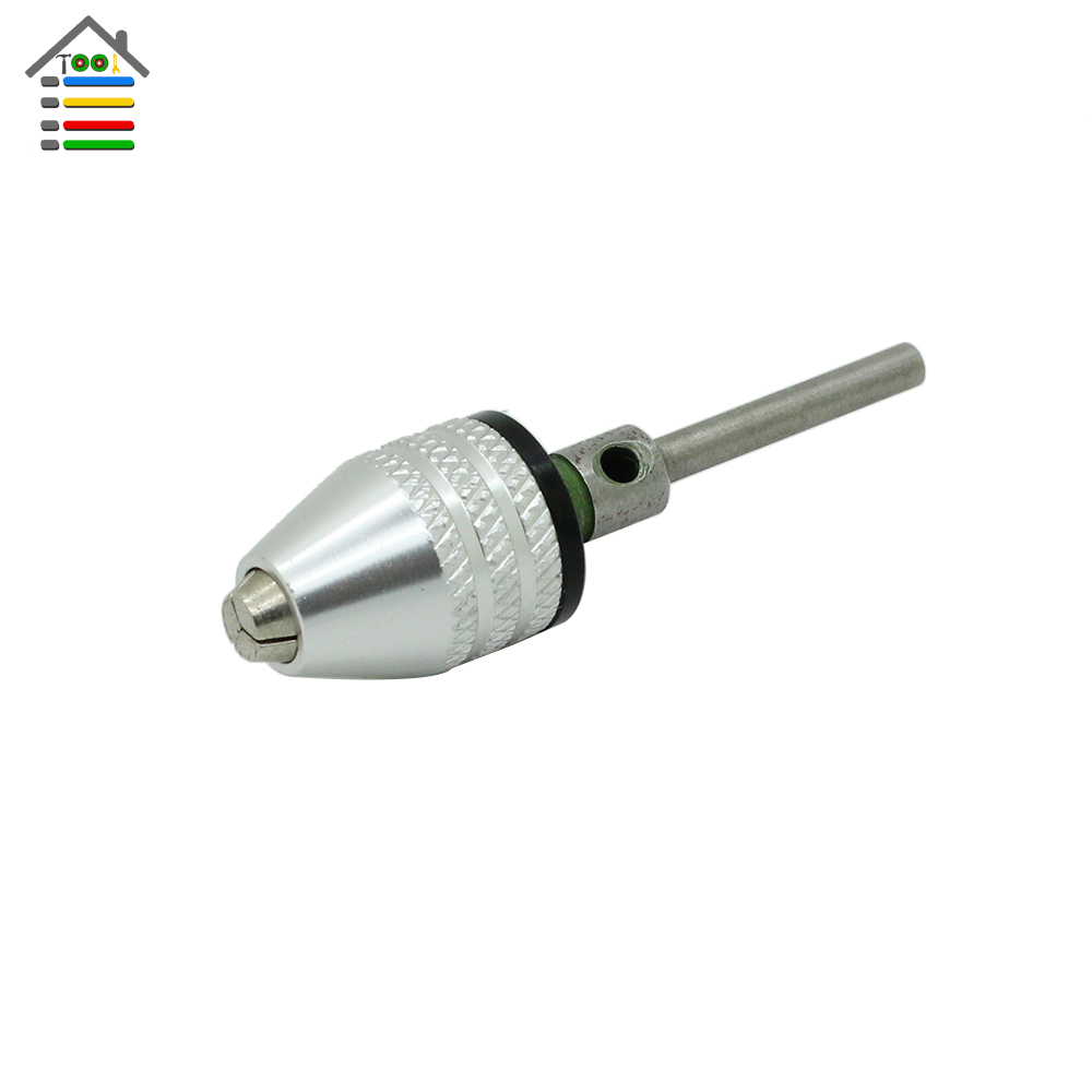 New Micro Keyless Chuck Cap 0.5-4mm With 3mm Connecting Rod Shank For Dremel Electric Grinder Rotary Tool 0 4 3 4mm keyless chuck universal electric grinding chuck for dremel