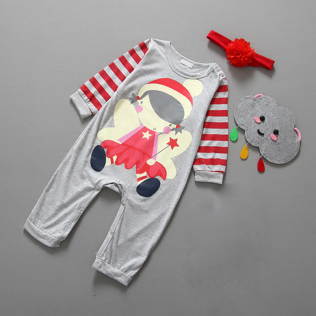 Christmas Baby girls clothes newborn pajamas baby boy winter snowsuit warm christmas romper jumpsuit santa claus baby costume