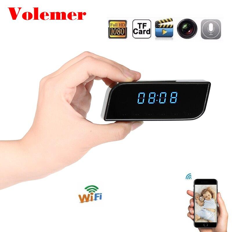 Volemer Vente Chaude Z10 Mini Caméra IP Wifi IR Version Nuit 1080 p Horloge Alarme Réglage Mini Caméscope DV DVR télécommande Kamera