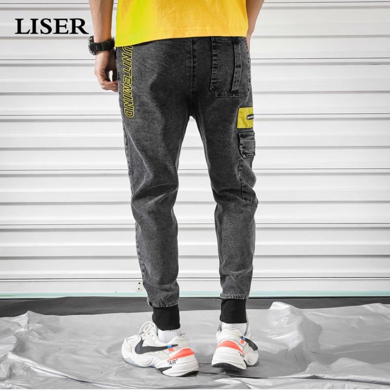 Liser Casual Pants Men  2019 Joggers Pants Streetwear Sweatpants Pantalones Hombre Pockets Loose Plus Size 5xl Hip Hop Pants Men