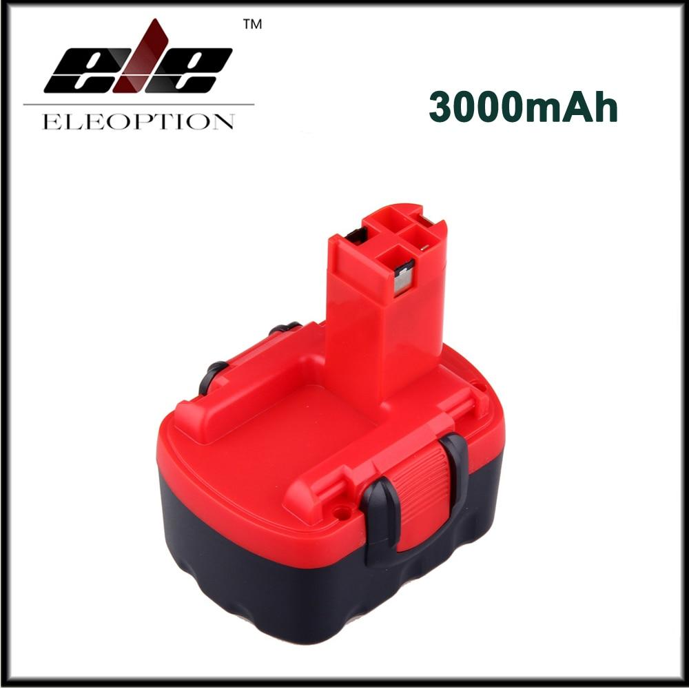3000 mAh 14.4 V Batteria Ricaricabile per BOSCH BAT038 BAT040 BAT140 BAT159 BAT041 3660 K