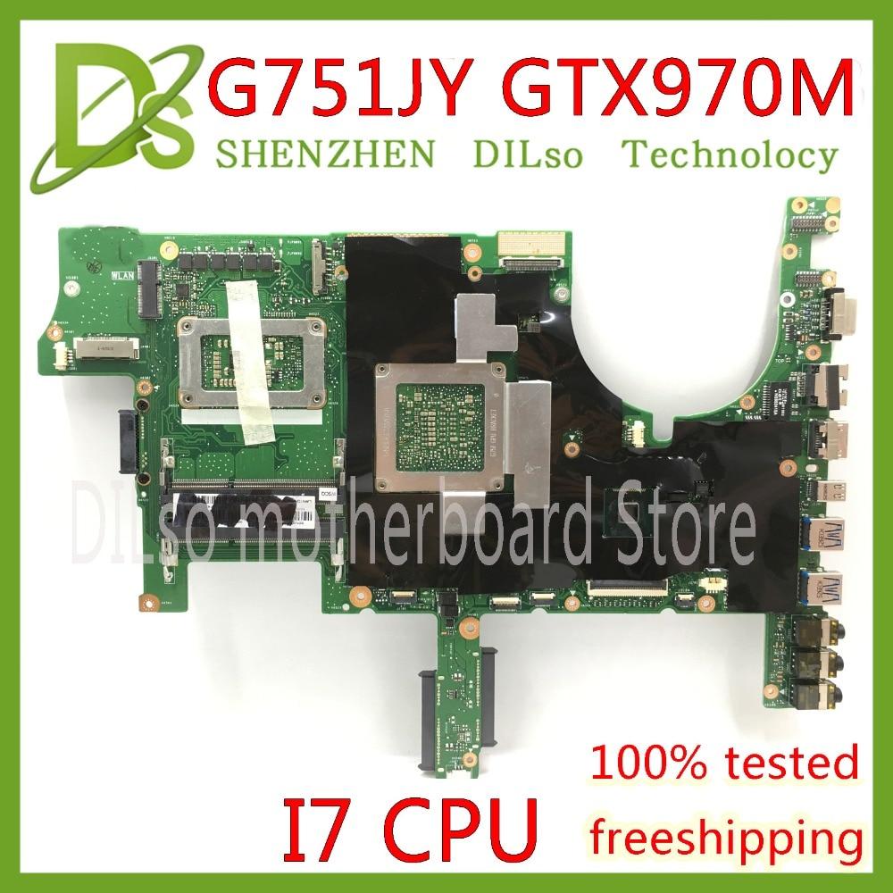 KEFU G751JT Voor ASUS G751J REV2.5 G751JY I7-4720HQ / I7-4710HQ - Computer componenten - Foto 3