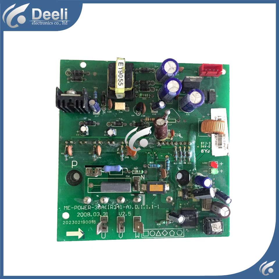 good working for air conditioning ME POWER-30A (IR341-A) module driver board used good working original used for power supply board led 42v800 le 42tg2000 le 32b90 vp168ug02 gp power board