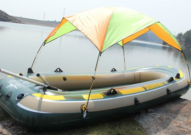 High Quality Seahawk inflatable boat Tent sun shelter inflatable rowing boat PVC Rubber Fishing Boat Tent Canopy-in Sun Shelter from Sports u0026 Entertainment ... & High Quality Seahawk inflatable boat Tent sun shelter inflatable ...