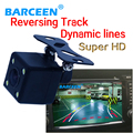 Bring water-proof IP 69K and dynamic track line auto system 170 degree car rear reversing camera for different cars