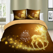 Christmas duvet set can dispatch as a gift packing