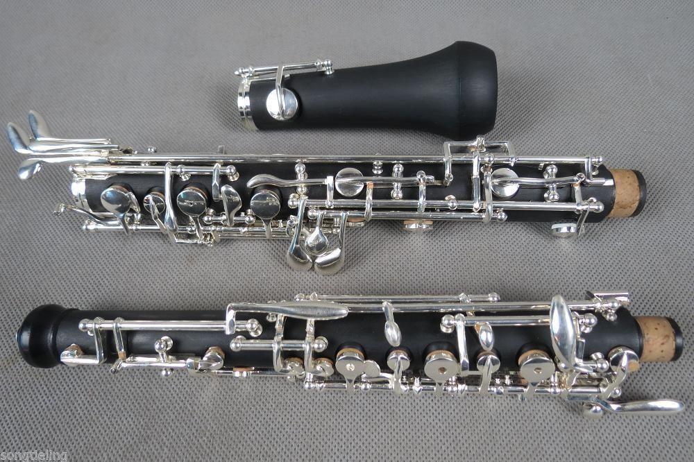 Persevering Beautiful Advanced Oboe C Key Semiautomatic Composite Wood Oboe