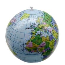 Надувной глобус Карта надувной мир Земли учитель пляжный мяч география подробная иллюстрация обучающая игрушка