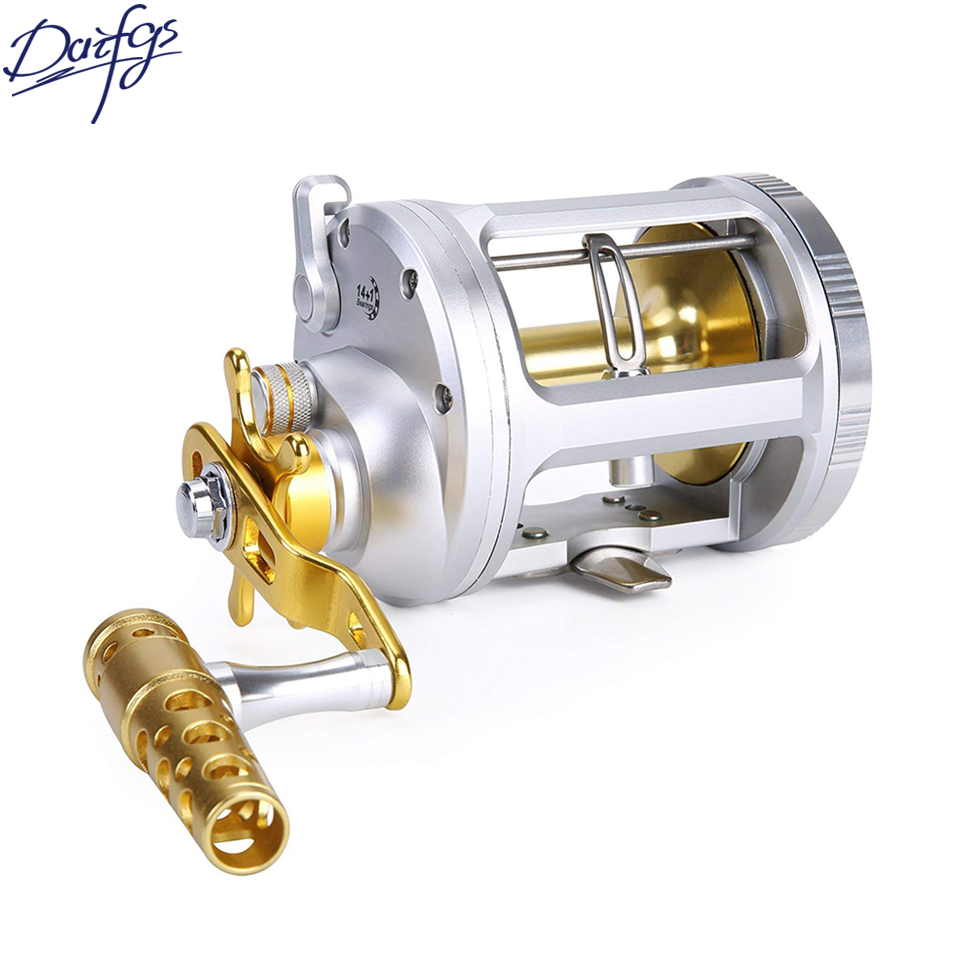 Bass Fishing Reels Wind Trolling Conventional Jigging Reel for Saltwater Big Game Fishing Right hand  Bait Casting Fishing Reel