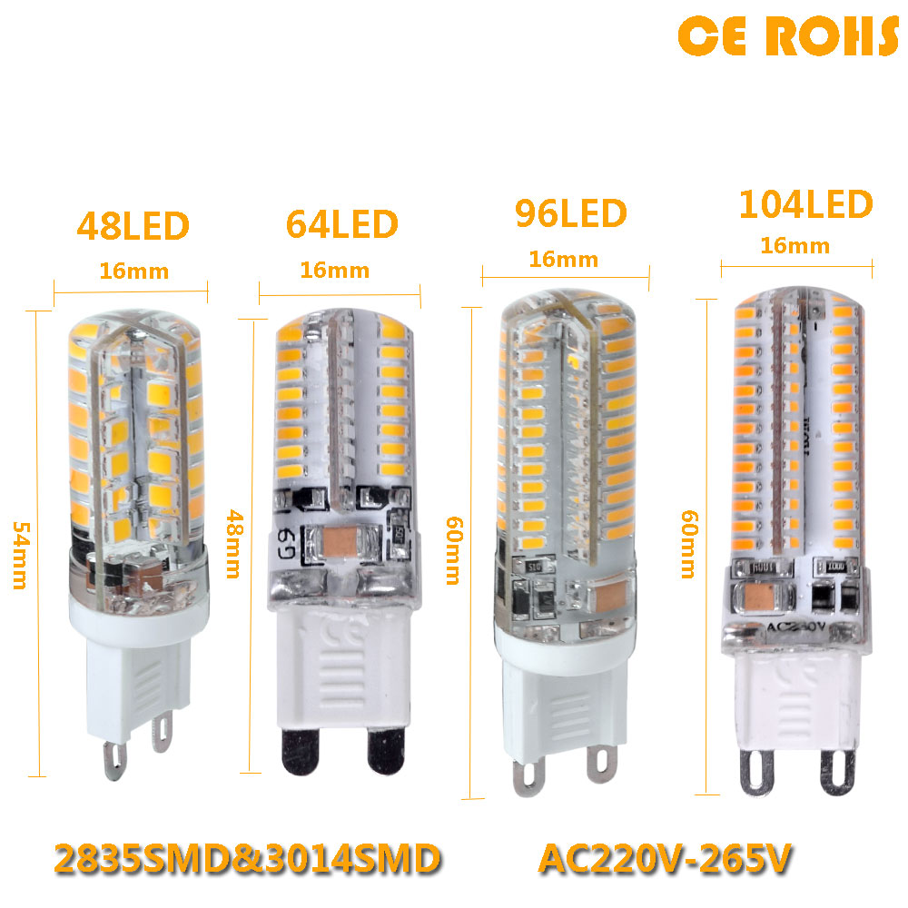 2017 lowest price led bulb smd 2835 3014 led g4 g9 led lamp 9w 10w 12w led light dc12v ac220v Led light bulb cost