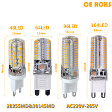 2020 Lowest price LED Bulb SMD 2835 3014 LED G4 G9 LED lamp 9W 10W 12W led Light DC12V AC220V 360 Degree Replace Halogen Lamp(China)