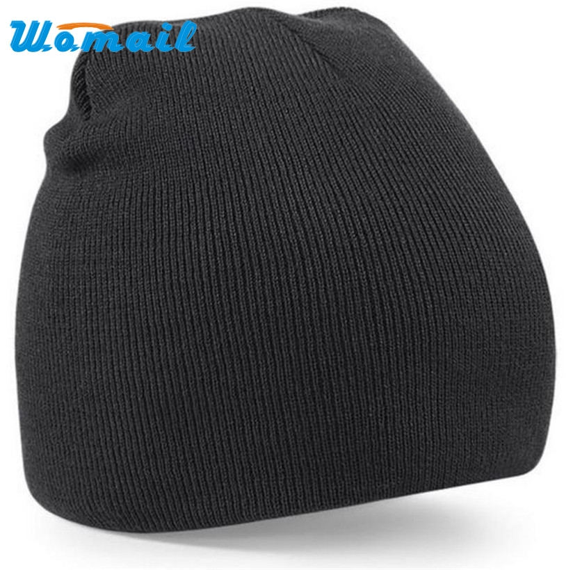 Hot Womail Men's Skullies Beanies Warm Winter Slouchy Baggy Cap Hip-hop Beanie Hats Men Wooly Spring Autumn Drop Shipping S29 2017 new lace beanies hats for women skullies baggy cap autumn winter russia designer skullies