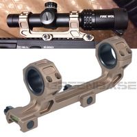 Tactical GE Automatics AR15 Scope Mount for Optical Sight Mount 25.4mm/30mm Rings Riflescope Mount W/Bubble Level For 20mm Rail