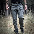 ReFire Gear IX7 City Tactical Military Pants Men Army Security Combat Work Cargo Pants Cotton Pocket Outdoors Trouser All Season
