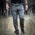 ReFire IX7 Ciudad Tactical Gear Militar Pantalones de Los Hombres Pantalones Cargo de Bolsillo de Algodón Al Aire Libre Pantalones de Trabajo de Combate Militar de Seguridad Toda la Temporada
