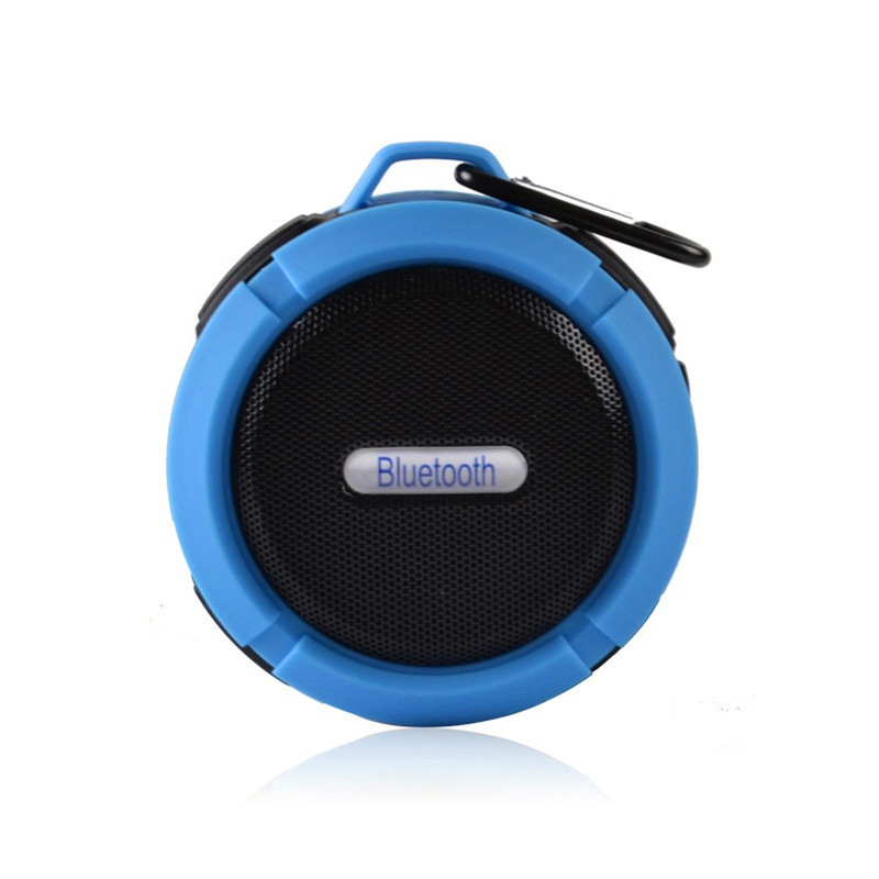 portable wireless outdoor bluetooth speaker with sub woofer sports mode stereo sound and heavy bass