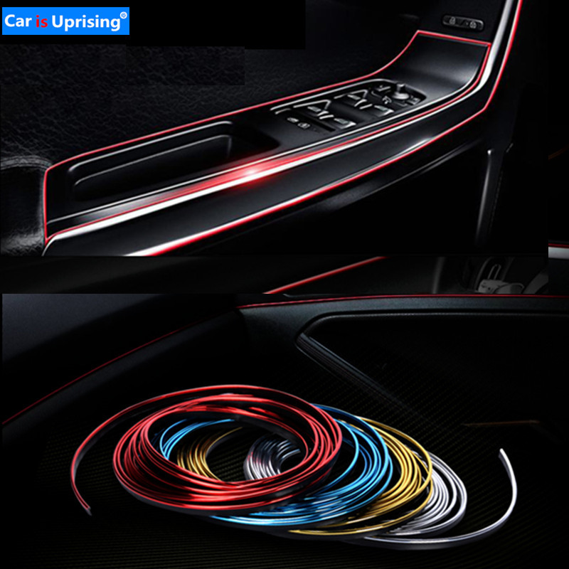 3M 5M Car Styling Interior Exterior Decoration Strips Stickers for Opel Mokka Corsa Astra G J H insignia Car Accessories-in Car Stickers from Automobiles & Motorcycles