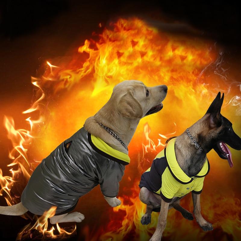 Waterdichte Omkeerbaar Nylon Warmte Hond Jas Warm Winter Hond Jassen Pet Parka Kleine Om Grote Hond Down Winter Betrouwbare Prestaties