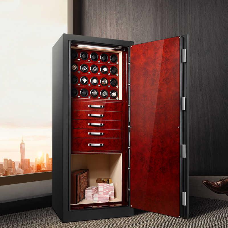 Caja de almacenamiento de reloj personalizada de alta calidad giratoria automática de china