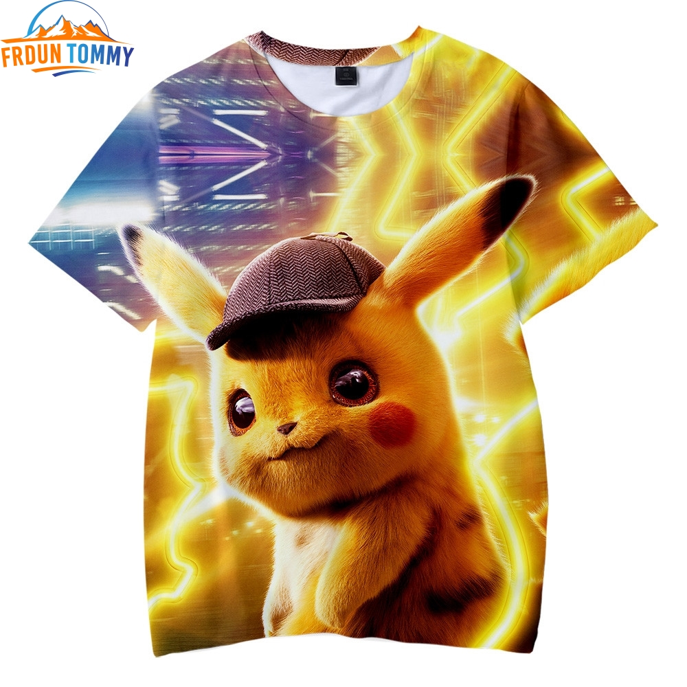2019-font-b-pokemon-b-font-detective-pikachu-3d-print-cute-kids-short-sleeve-t-shirt-girl-boy-summer-fashion-harajuku-casual-soft-t-shirt