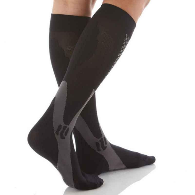 EFINNY Для мужчин Для Женщин ноги Поддержка стрейч Компрессионные носки  ниже гетры e055e901691