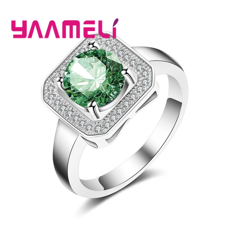 YAAMELI Vintage Jewelry Punk Big Ring Black Friday Cheap Sell Color 925 Sterling Silver Rings For Women Bohemia Free Shipping