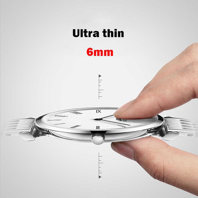 GUANQIN ファッションカップルの腕時計セットシンプルなメンズ腕時計高級クォーツ時計女性時計レディース腕時計愛好家