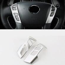 Хромированная панель на руль автомобиля из АБС пластика для