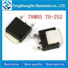 20pcs/lot  New  78M05 TO252 7805 750mA   L78M05CDT  Three-terminal voltage regulator tube