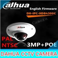 Dahua IPC HDB4300C 3MP Waterproof IP Dome Camera IP66 Onvif POE HDB4300C 2 8mm Lens Support