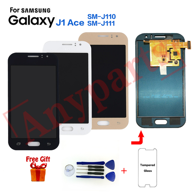 For Samsung Galaxy J1 Ace SM-J110F Display lcd Screen replacement for SAMSUNG SM-J110G J110H J110L J110M J111F J111M lcd display