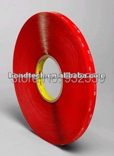 6mmX33M 3M VHB tape 4910 Clear for glass,metal,1.0mm Free shipping scene nordic creative bar minimalist dining room bedroom retro american single head wood japanese clothing store chandelier