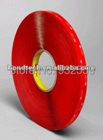 6mmX33M 3M VHB tape 4910 Clear for glass,metal,1.0mm Free shipping